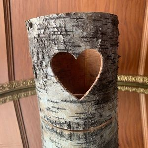 Other - Tree-Bark Candle Holder